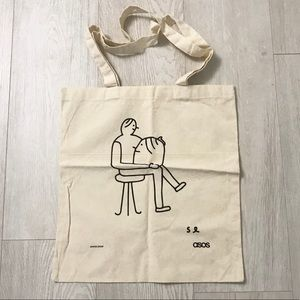 ASOS canvas tote bag